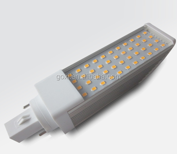 High brightness energy saving light IP44 5w 4 pin 9w base g24 g23 led pl lamp