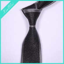 Youth Newest Fashion Flashing Silk Tie
