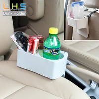 Manufacture supply Headrest Seat Back Organizer Cup Holder Pocket Food Tray car drink holder