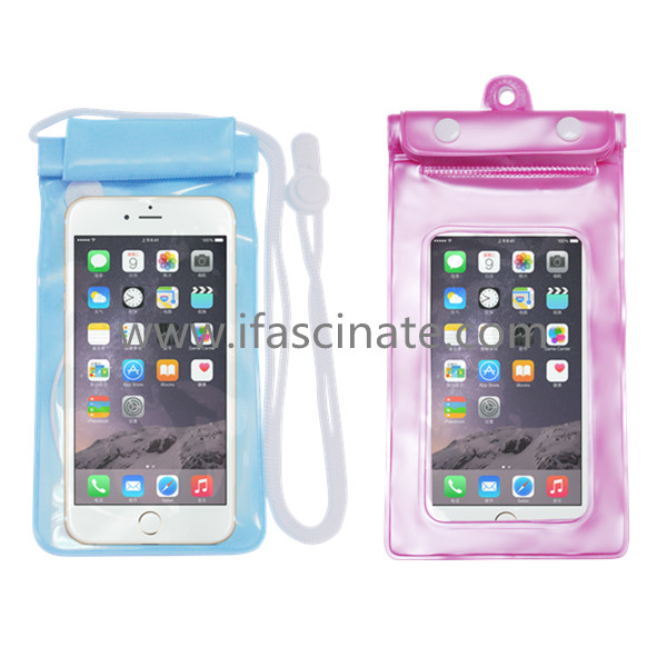Wholesale cellphone plastic bags passed ipx8