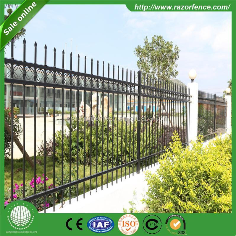 High Quality Cheap Customzied Plastic/Vinyl/PVC Picket Fence