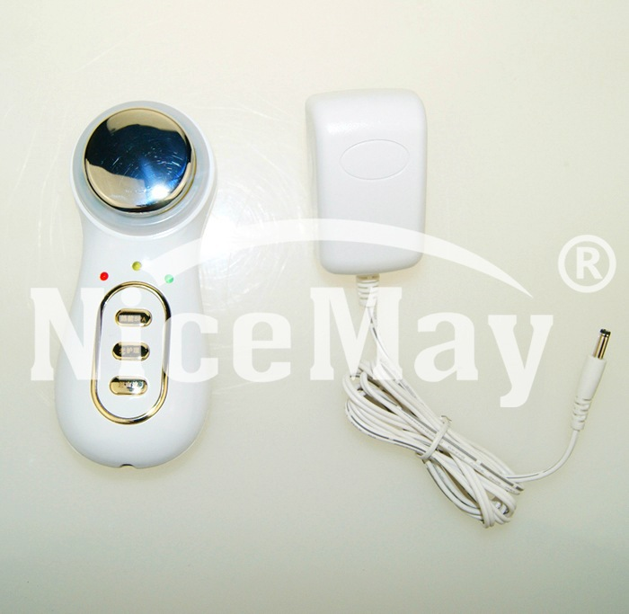 hot cold Facial Anti-aging beauty machine , spa led light