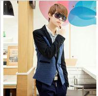 D92752T 2014 UK new style casual men's suit of slim ,casual men coat