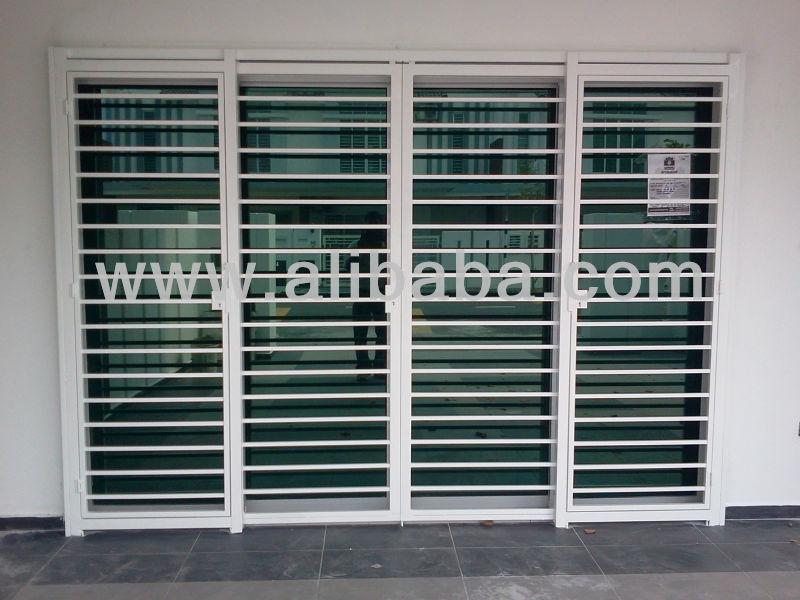 Mild Steel Door Grill   Buy Door Grill Design / Glass Door Grill / Modern  Mild Steel Grill Product On Alibaba.com