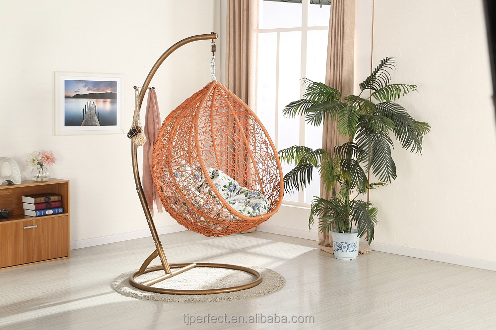New Design Wholesale outdoor PE bamboo swing