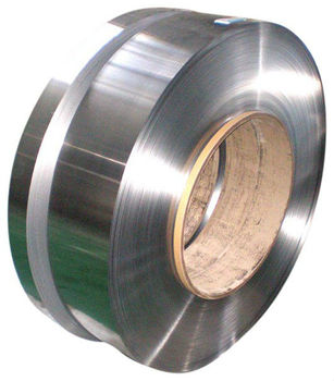 Stainless steel strips EN 1.4120 / DIN X20CrMo13, cold rolled, annealed, bright pickled, edge cut, in coils