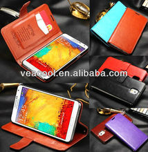 Magnetic Wallet Stand PU leather Case Cover For Samsung Galaxy Note 3 III N900