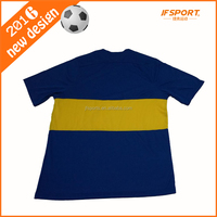 Famous Club Football Jersey 100% Polyester With Thai Quality