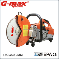 G-max Gasoline Engine Road Cutting Machine With 350MM Diamond Blade GT-GCS350