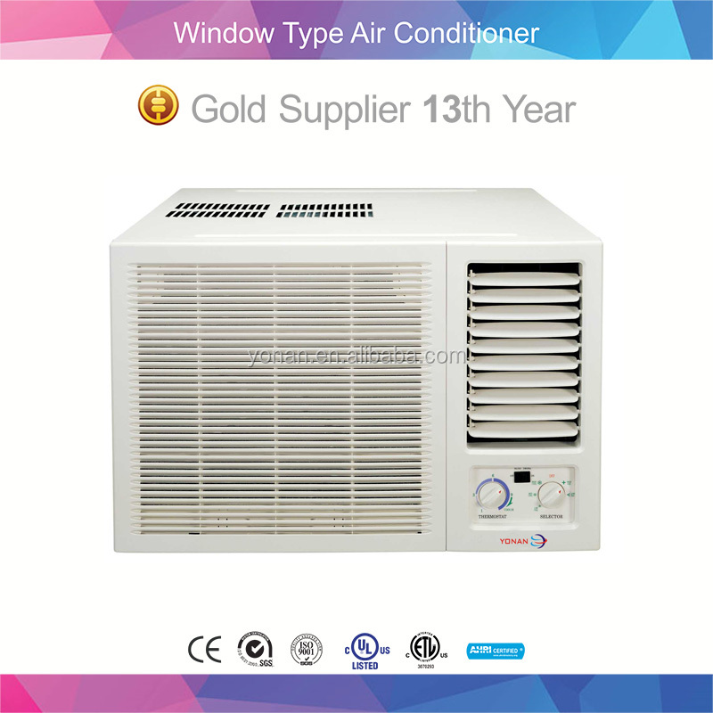 R22 Gas Super Quiet 1 Ton Window Air Conditioner Window Type