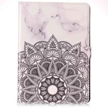 Marble design wallet flip case for iPad Pro 10.5