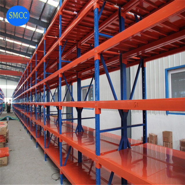 High Loads Adjustable Heavy Duty Warehouse Storage Beam Racks for Pallets