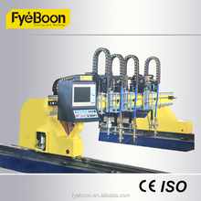 Useful H Beam Metal Cutting Machine with 0 - 12000mm / min
