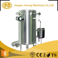 Small uht water glass bottle milk sterilization steel tank machine