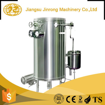 factory Small uht water glass bottle milk sterilization steel tank machine