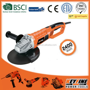 230MM 2400w powerful motor with rotary back handle ANGLE GRINDER