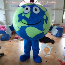 custom Halloween round mascot inflatable world globe costume