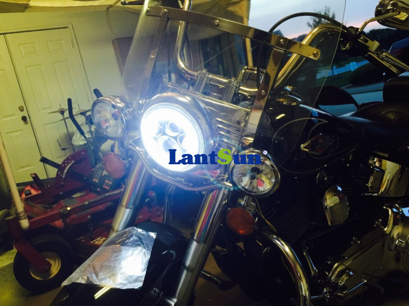 40w high power 5.75 inch led headlight for Harley Davidson