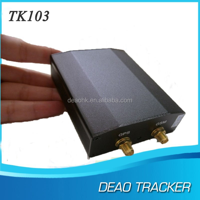 tk 103 DEAOHK gps tracker 103A, 103B for car rental ,vehicle tracking