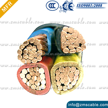Low Voltage under armoured copper core cable XLPE Insulation Steel Tape under armour cooper cable