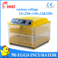 CE approved full automatic egg turning egg hatchers prices in Egypt poultry egg incubator