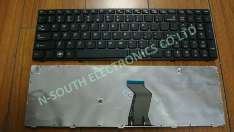 Replacement laptop keyboard for LENOVO G575 B570 G570 US black, computer keyboards