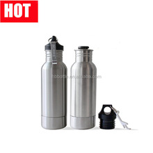 2017 hot sale 20oz stainless steel beer can water bottle /beer bottle keeper with opener for beer bottle