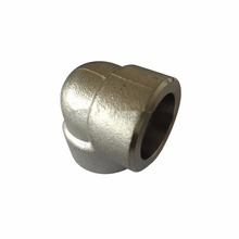 High quality china supplier astm A105 carbon steel 90 degree socket weld forged pipe fittings elbow