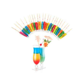 100% handmade Umbrella toothpicks for bar party