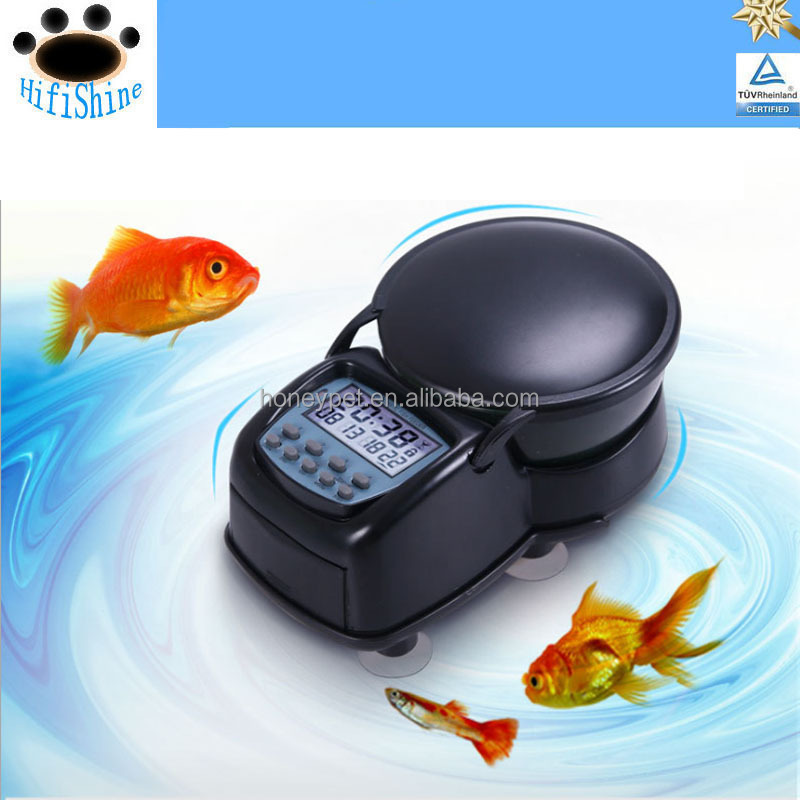 Wholesale automatic pet fish auto feeder fish