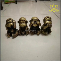 Home Decoration Use and Art Deco Style Theme Bronze Sculpture