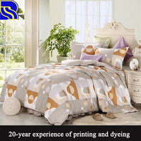 China supplier and wholesale colorful duvet cover bedding set