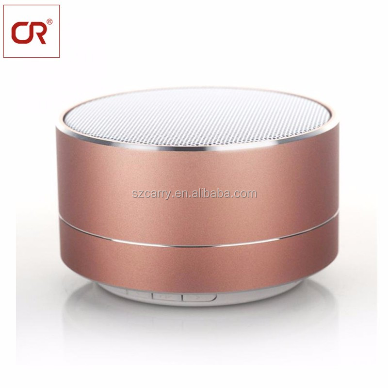 Popular Gift 3W Wireless Audio Smart Home Music Mini Led Portable Gadgets Metal Bluetooth Speaker