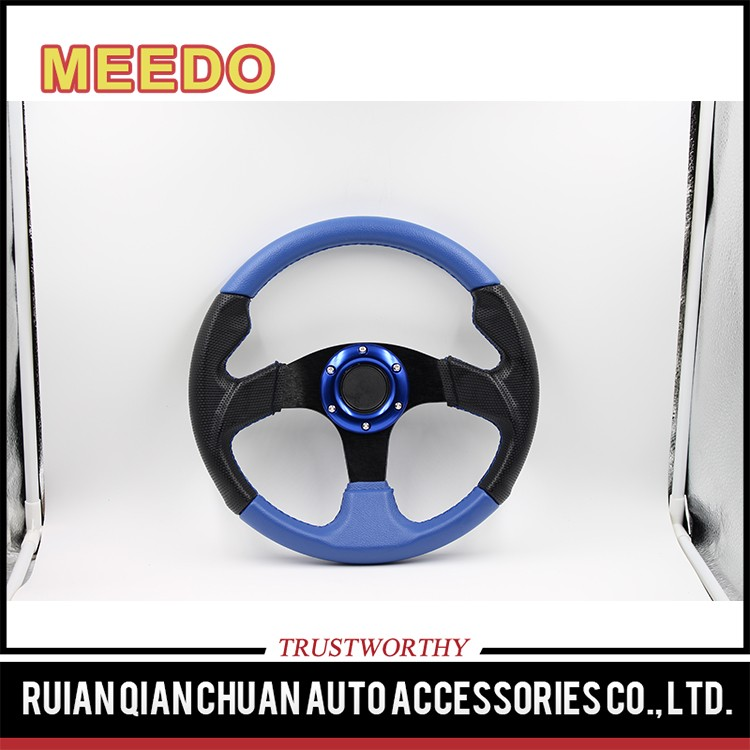PU/PVC/ Leather/Suede steering wheel 280mm modifyied racing steering wheels for kids ATV UTV Scooter LEV XB-A XB-C