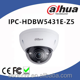 Dahua 4MP H.265 WDR IR 100m IP67,IK10, PoE Dome Camera IPC-HDBW5431E-Z5