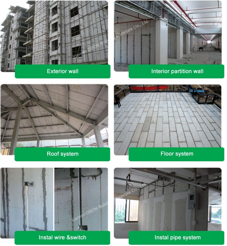Building material lightweight eps cement foam insulation sandwich board panel for exterior wall