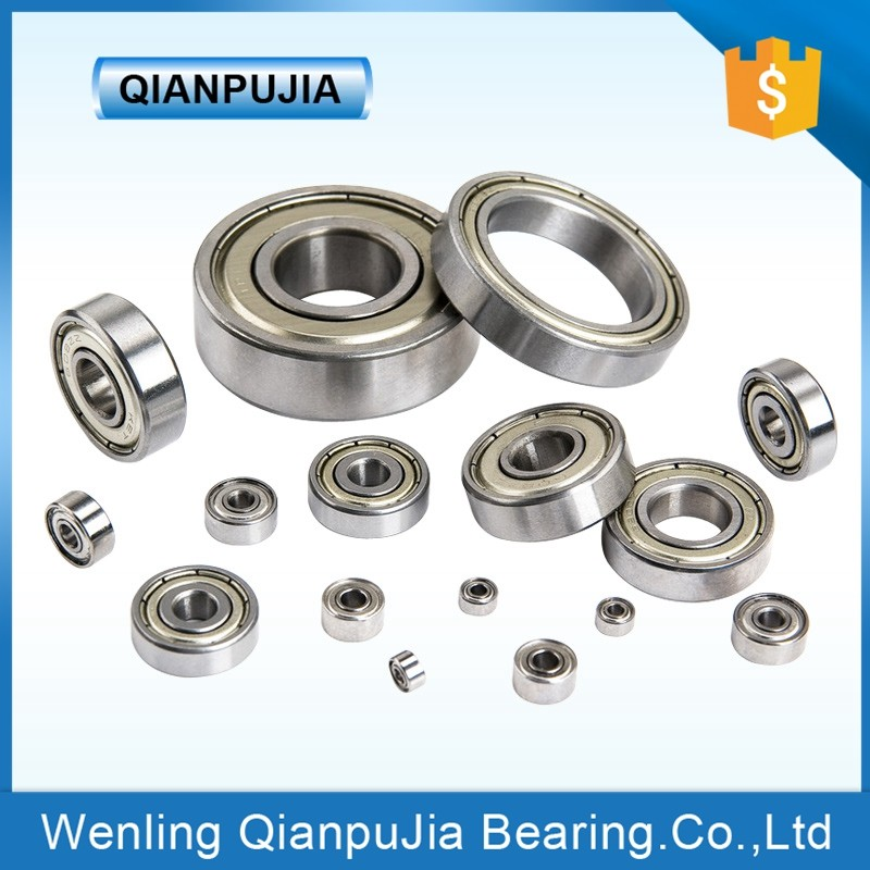 Low Moq Single Row Bearing Deep Groove Ball Bearing