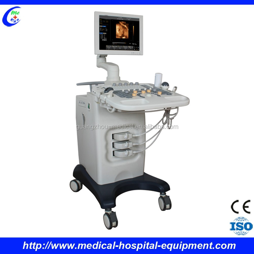 CE Approved 3d/4d Colour Ultrasound Scanner