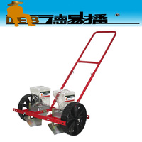 2 row manual vegetable seed machinery/high precision bean plant agriculture tool machine