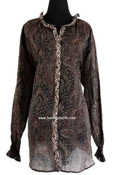Baju Batik Silky Rempel Buy Dresses Product On
