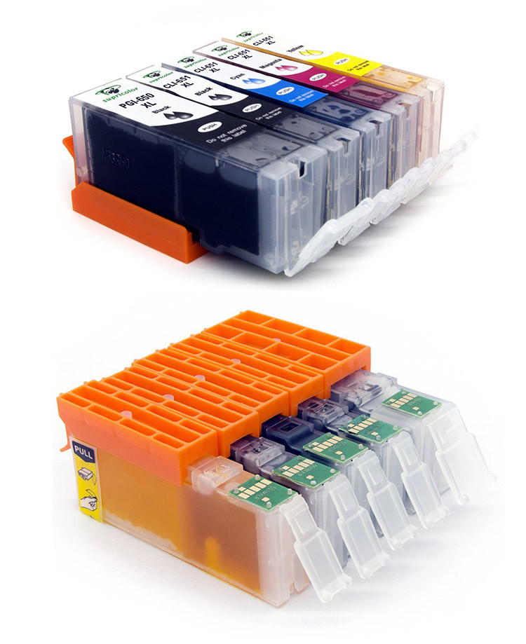 compatible ink cartridge PGI-650 CLI-651 for canon Pixma IP7260 MG5460 MG6360 MX726
