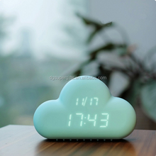 Cloud Alarm Clock desk clock Creative Home Decor wall clock