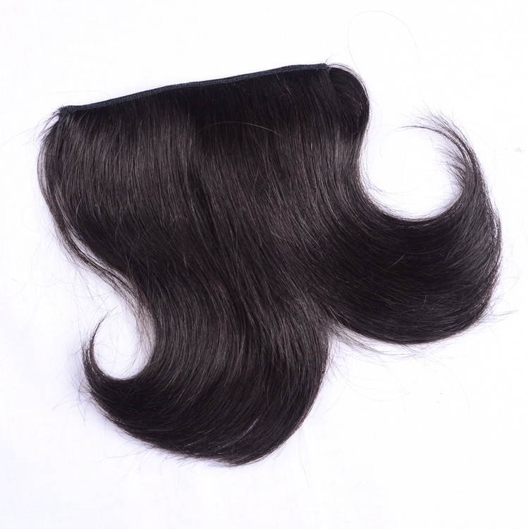New style remy hair clip on bangs for young girl