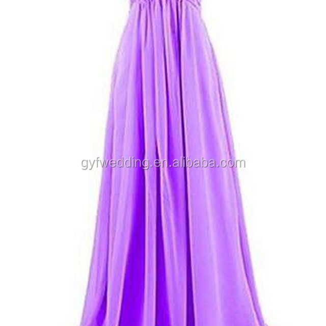 Cheap 2016 Long Chiffon Sweetheart Neck High Waist Convertible Dresses Maxi Floor Length Purple bridesmaid Dress C48-1