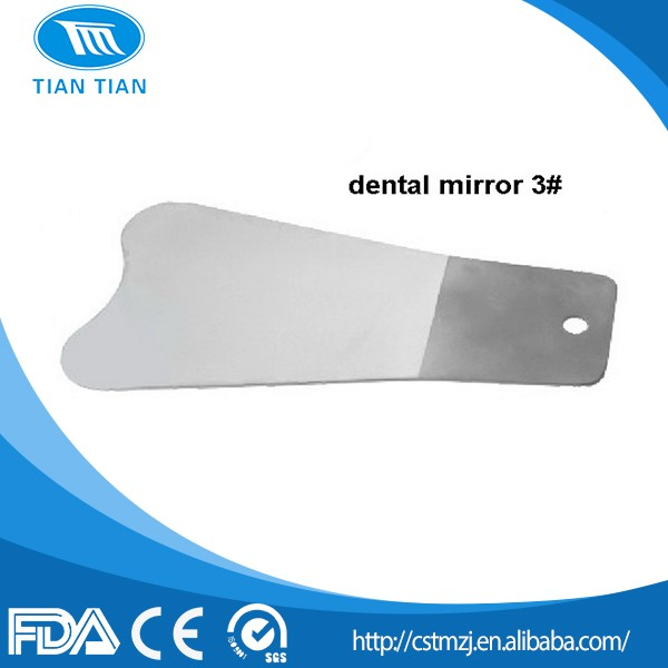 Factory OEM Dental Photographic Stainless Steel Intraoral Orthodontic Mirrors