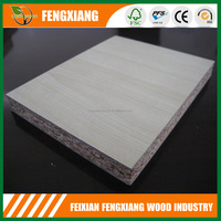 High quality wheat straw particle board / maple particle board