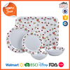 BSCI Audited Factories Melamine Wholesale Big Lots Dinnerware with small MOQ