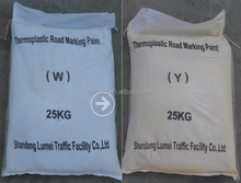 hot selling luminous white thermoplastic road line paint for highway marking