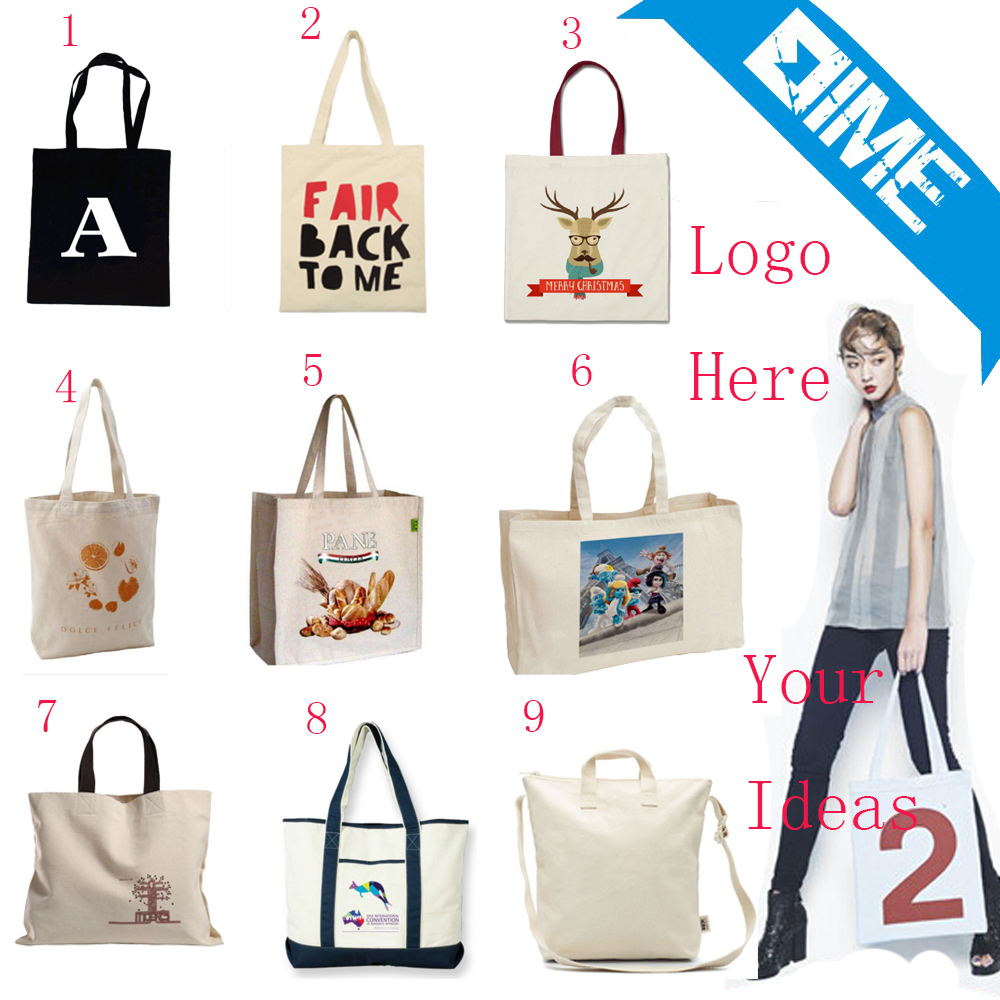 Customised High Quality Cotton Canvas Tote Bag
