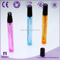 hot sale 8ml 10ml 12ml colored small glass tube for perfume